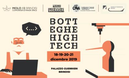 Pillole di Botteghe High Tech, quattro giornate per unire artigiani e nativi digitali